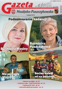 wydanie listopadowe: Podsumowanie kadencji burmistrzów Mosiny i Puszczykowa