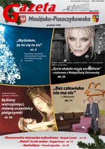 Grudniowe wydanie: Małgorzata Ostrowska