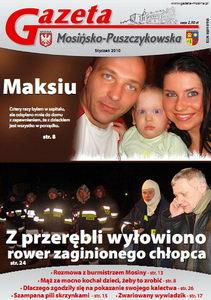 W Lutowym numerze Gazety Mosińsko-Puszczykowskiej: Maksiu