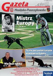 lutowy numer gazety, a na okładce Kajetan Jasiczak