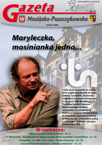 W marcowym wydaniu Witold Dębicki i Maria Rybarczyk z Teatru Nowego