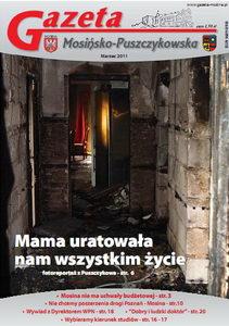 marcowe wydanie GMP - pożar w Puszczykowie