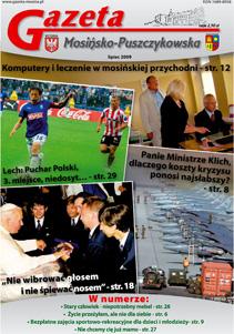 okładka Lipiec 2009