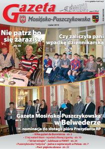 Lipiec: Gazeta Mosińsko-Puszczykowska w Belwederze