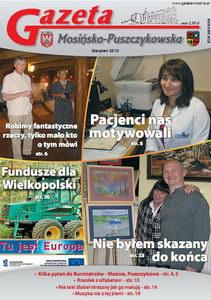w wydaniu sierpniowym m.in fundusze dla wielkopolski