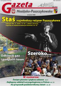 wydanie wrześniwe: na okładce Staś - najmłodszy reżyser Puszczykowa