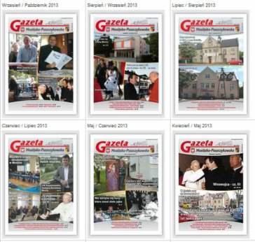 Wydanie internetowe Gazety Mosińsko-Puszczykowskiej