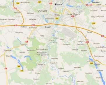 Zasięg gazety: gmina Mosina powiat poznański
