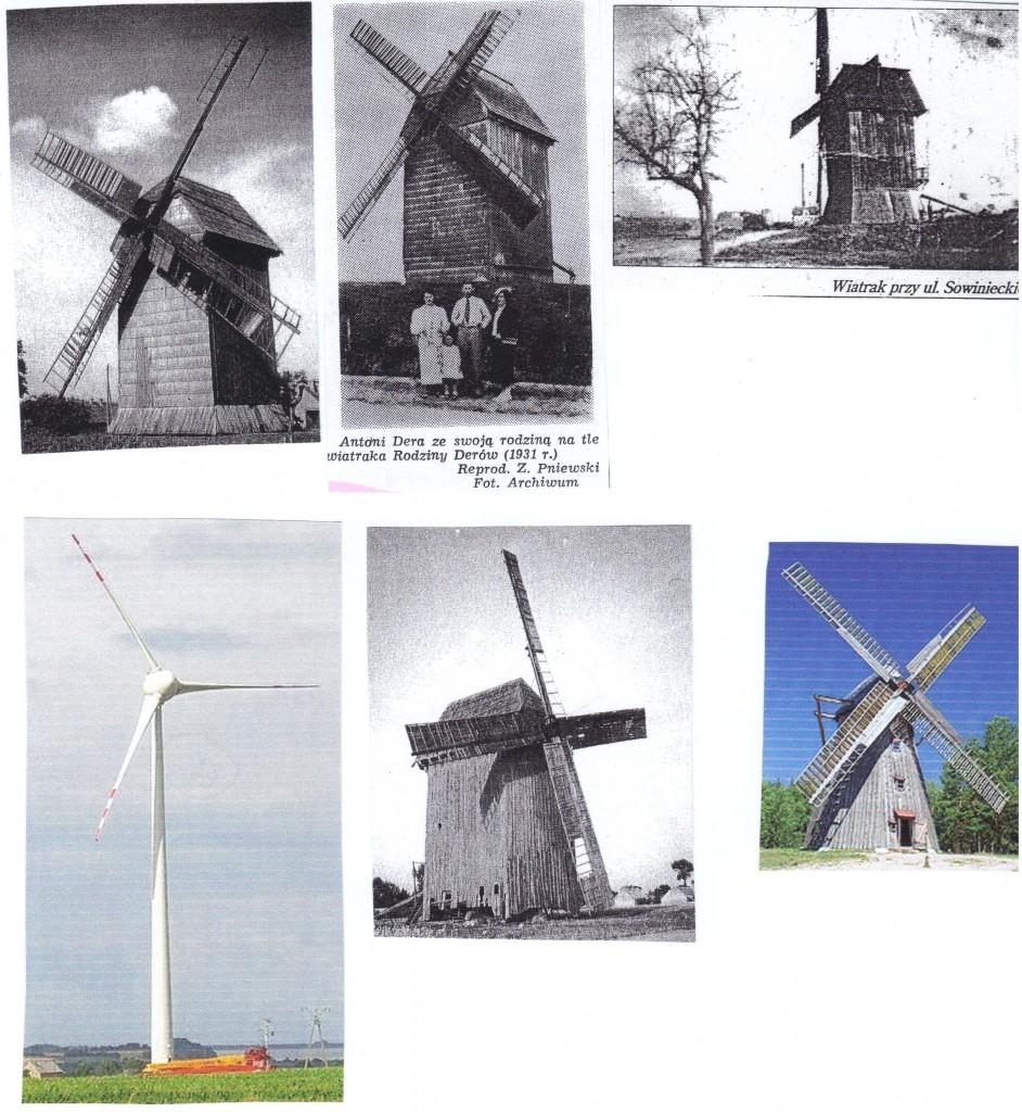 wiatraki, młyny