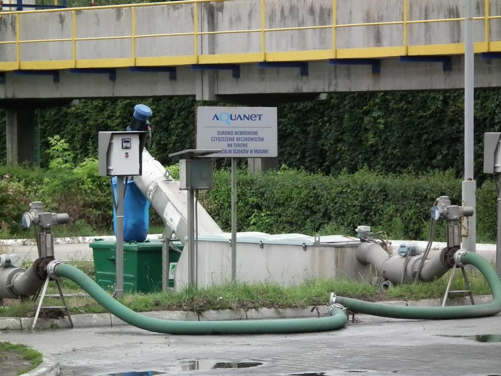 Aquanet Mosina - Oczyszczalnia w Mosinie