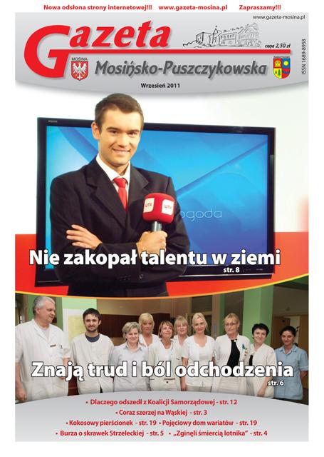 okładka wrześniowa GMP  2011