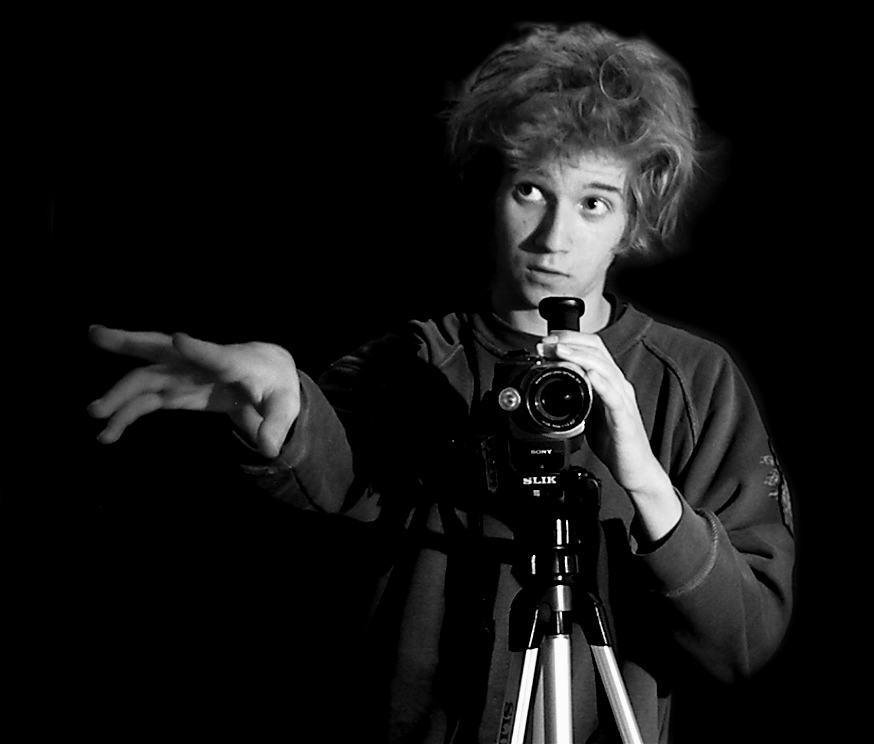 Staś - najmłodszy reżyser Puszczykowa