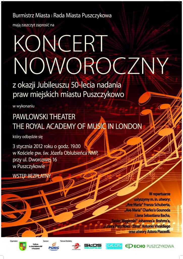 Puszczykowo - 50 lat - koncert noworoczny