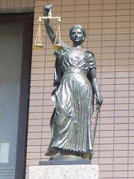 porady prawne - rzeźba Temidy