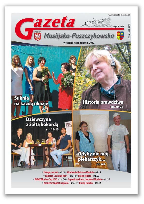 Informacje Mosina i Puszczykowo GMP Wrzesień