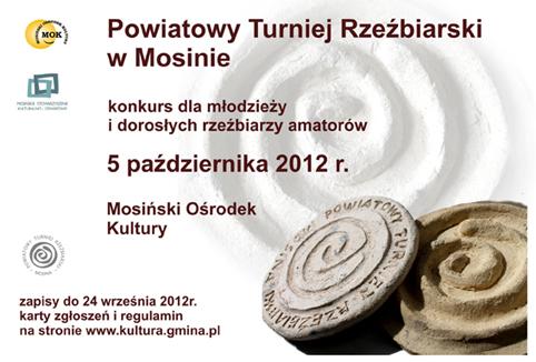 Mosina - turniej rzezbiarski