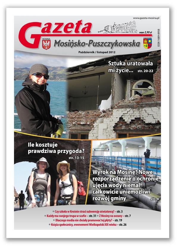 Informacje Mosina i Puszczykowo GMP Październik