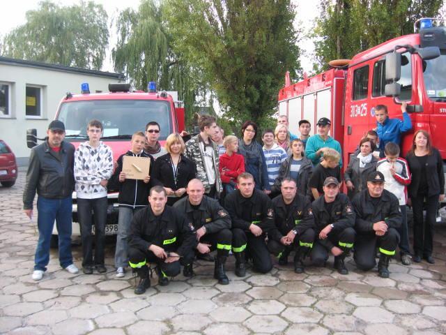 Straż pożarna Mosina - zdjęcie zbiorowe