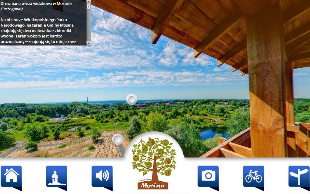 turystyka gmina mosina - wieża widokowa atrakcja turystyczna