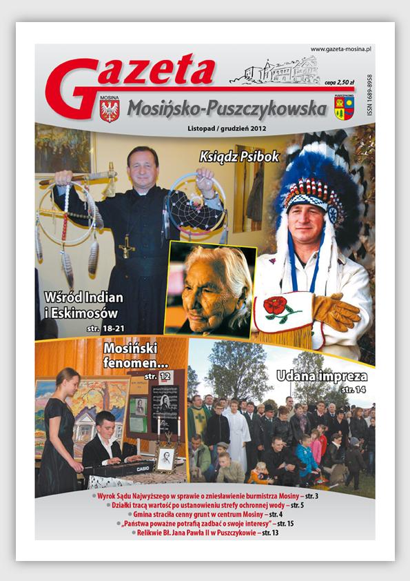 Informacje Mosina i Puszczykowo GMP Listopad