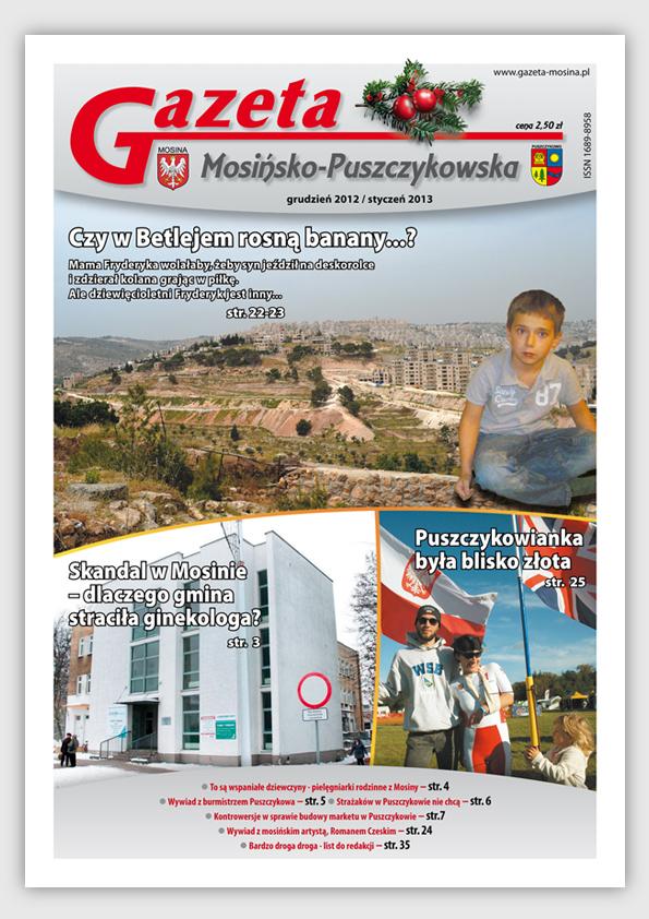 Wydanie grudniowe GMP - Mosina i Puszczykowo Informacje lokalne