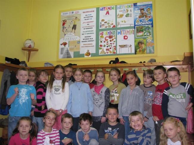 Dzieci ze Szkoły w Krosinku