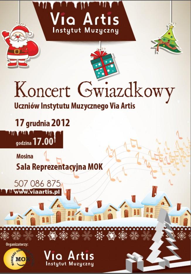 Koncert Gwiazdkowy - plakat
