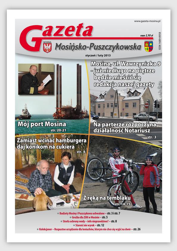 Informacje Mosina i Puszczykowo GMP Styczeń