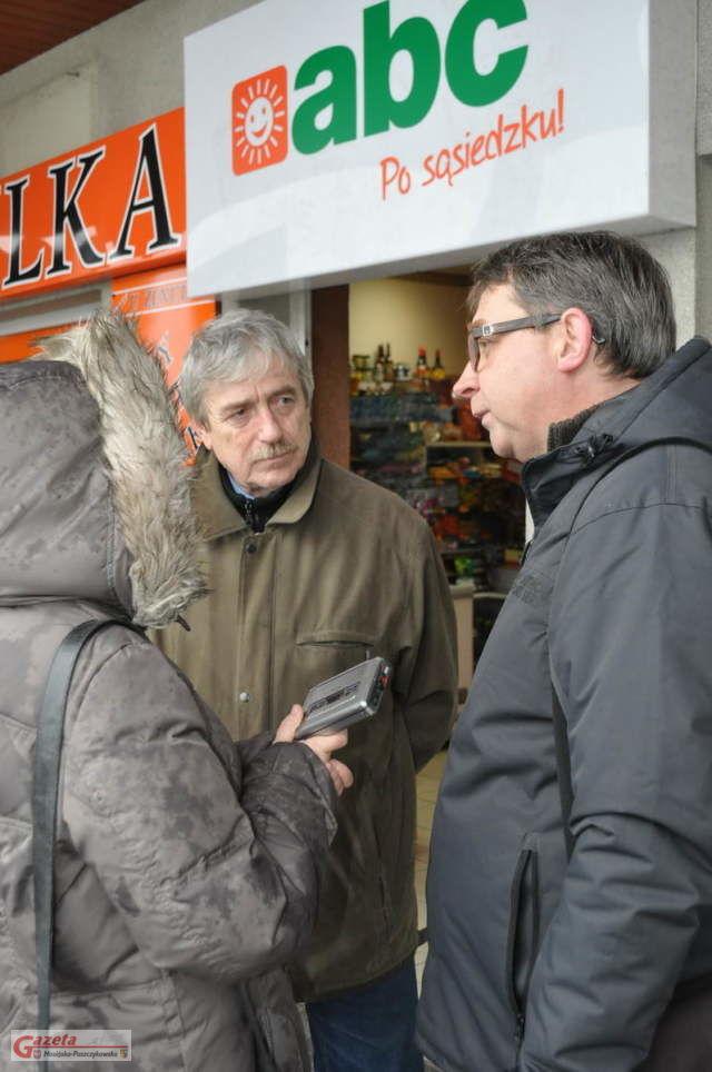Protest - Jan Marciniak- wywiad z radnym