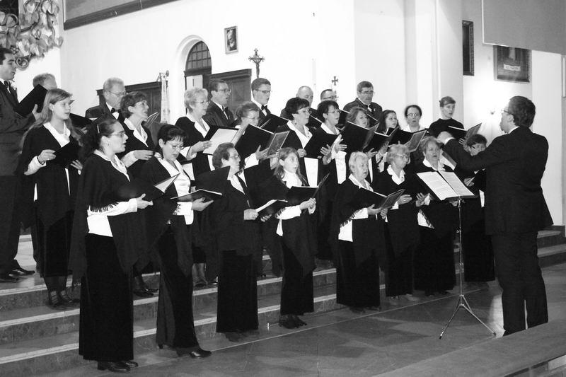 chór pw. Św. Cecylii