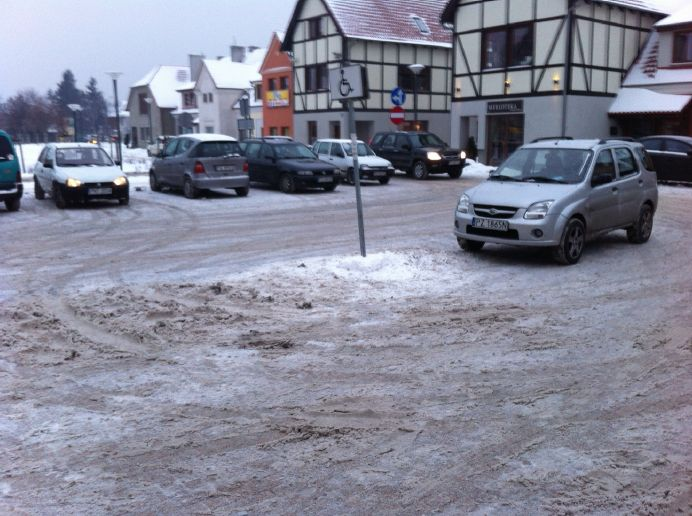 mandat za parkowanie od straży miejskiej z Puszczykowa