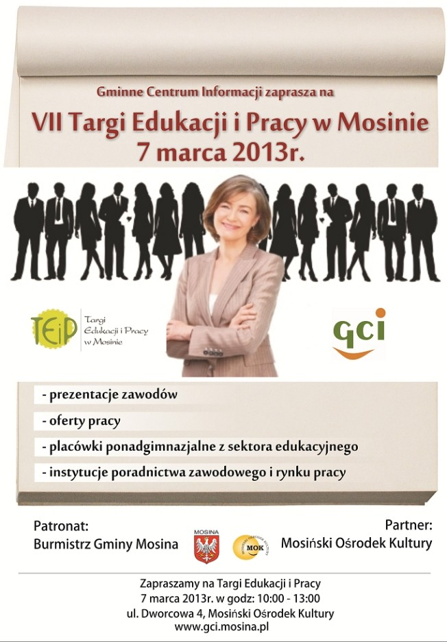 VII Targi Edukacji i Pracy w Mosinie