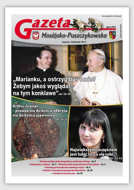 Wydanie GMP - Mosina i Puszczykowo Informacje lokalne- Marzec