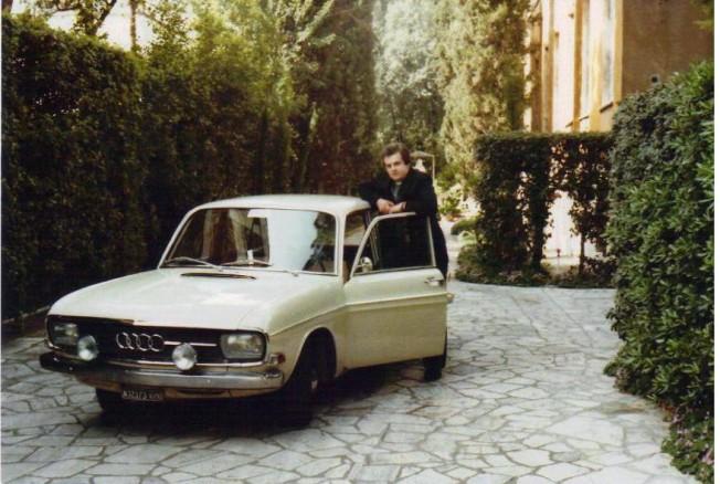 Audi 60, którym kard. Wojtyła jechał na Konklawe