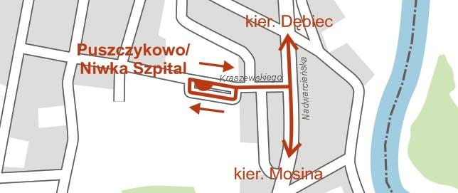 Przystanek autobusowy Puszczykowo / Niwka Szpital