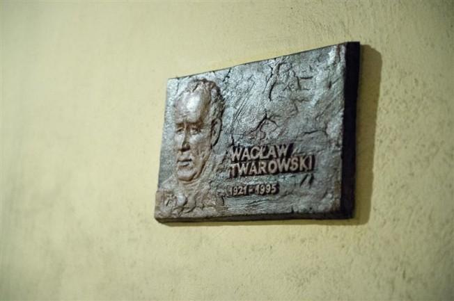 Wacław Twardowski płyta pamiątkowa