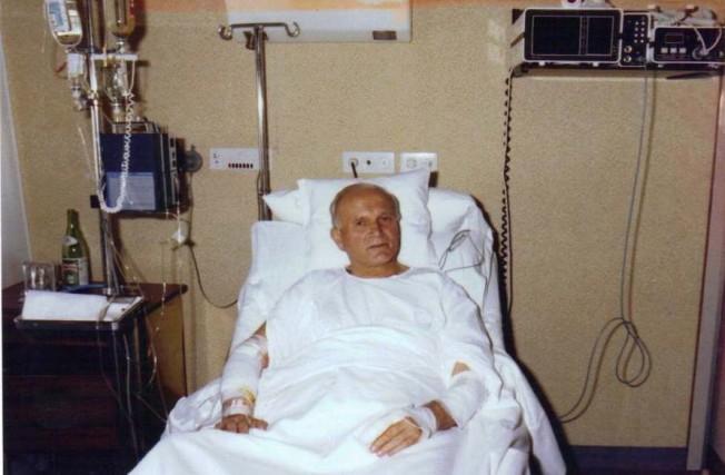 Klinika Gemelli - Ojciec Święty Jan Paweł II po operacji