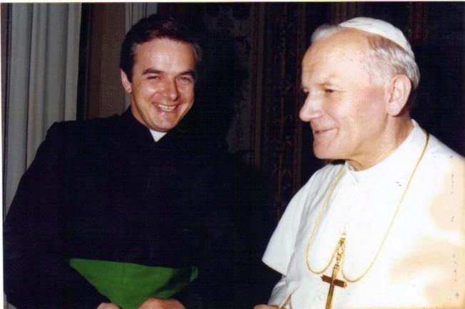 Ojciec Święty i b. Marian