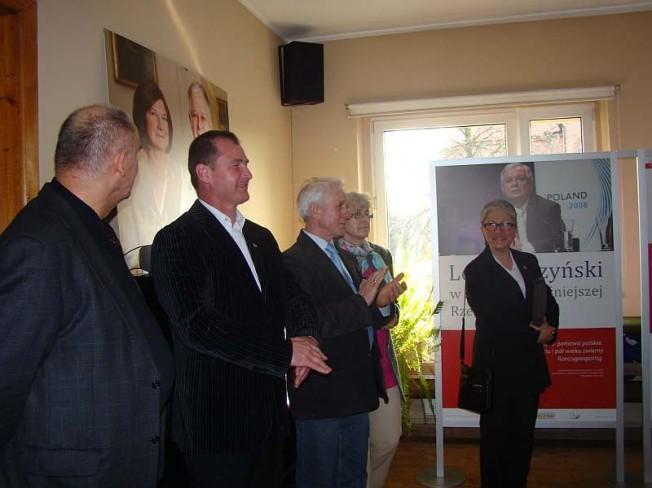 Waldemar Wiązek na spotkaniu