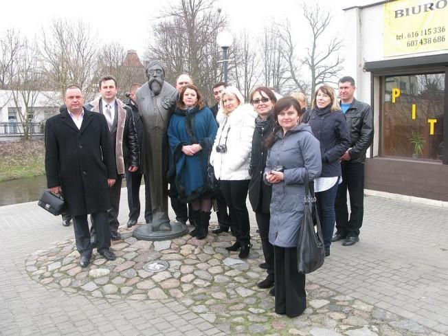 delegacja z Ukrainy w Mosinie