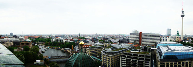widok Katedry Berlińskiej Berlin