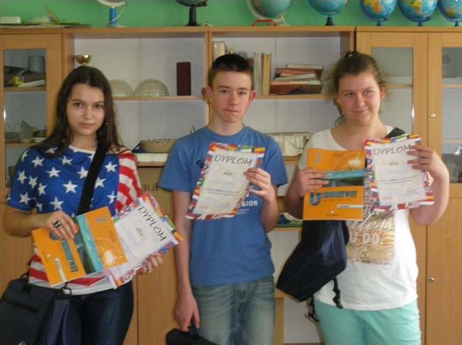 zespół szkół w Krośnie - konkurs
