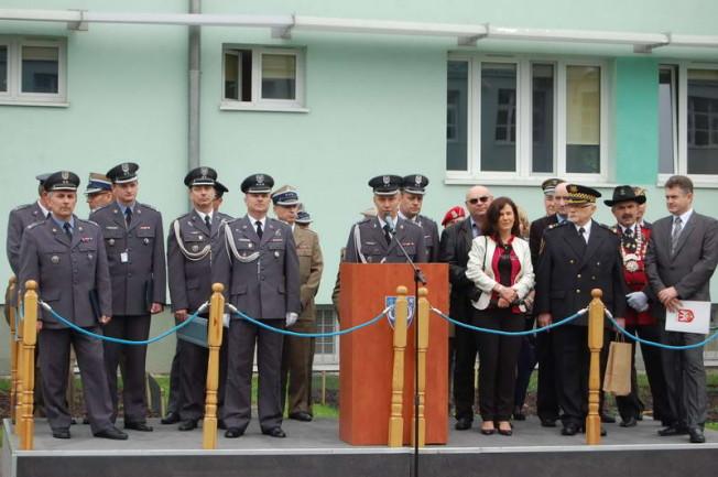 Jednostka wojskowa w Babkach - uroczystość