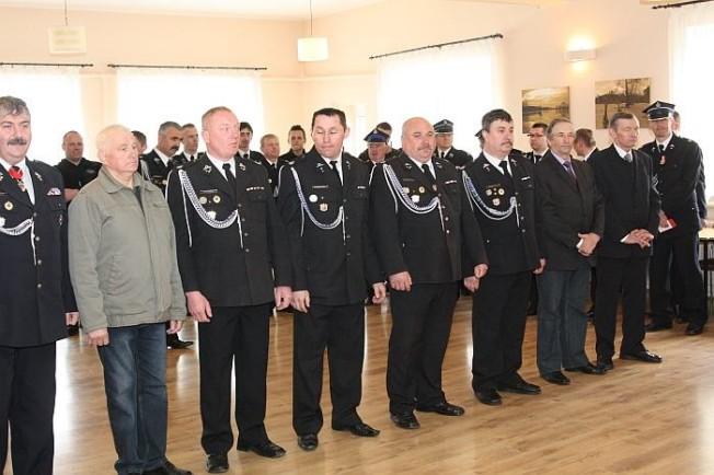 dzień strażaka w kaplicy w Radzewicach