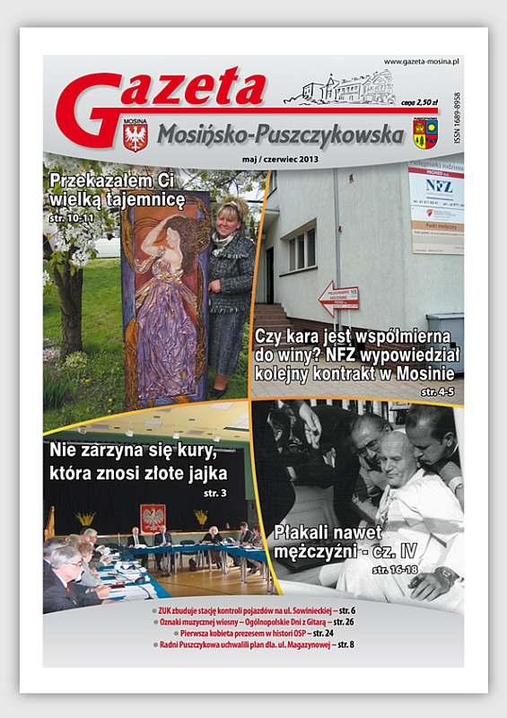 Informacje lokalne -wydanie GMP - Mosina i Puszczykowo