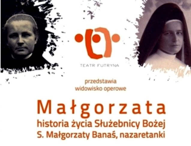 plakat Małgorzata widowisko operowe