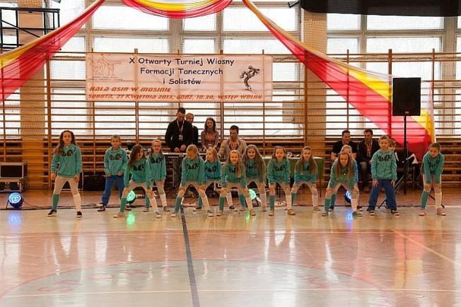 turniej tańca w Mosinie