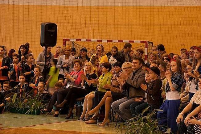 turniej tańca w Mosinie - publiczność