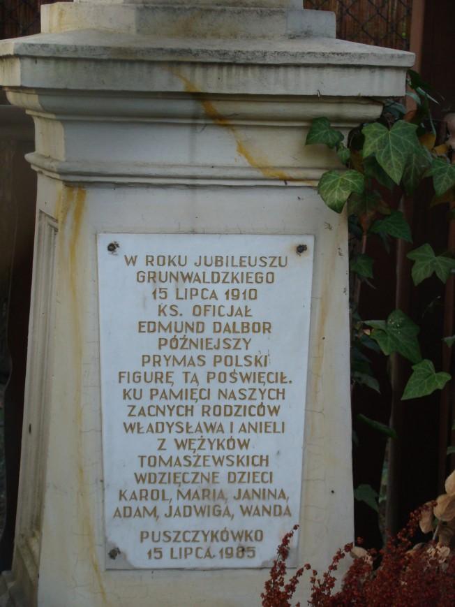 Tablica pamiątkowa Puszczykowo