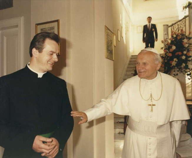 Ojciec Święty i b. Marian Markiewicz